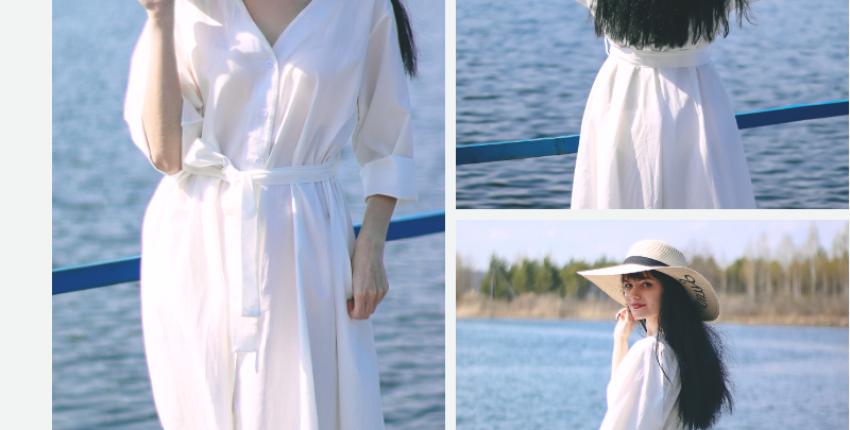 Платье-рубашка Colorfaith