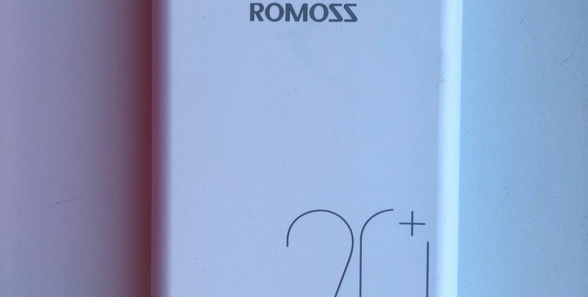 Внешний аккумулятор Romoss SW20 Pro 20000 мАч - отзыв покупателя