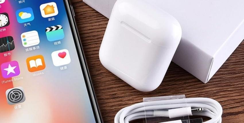 i20 TWS с чипом от Apple W1 ЛУЧШАЯ КОПИЯ AirPods