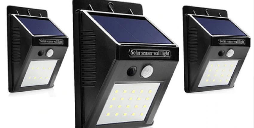 Уличный фонарь на солнечной батарее - отзыв покупателя