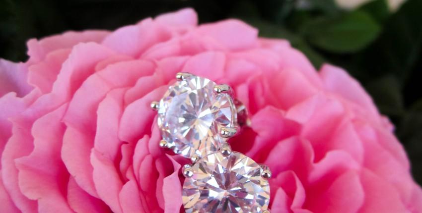 Серебряные серьги с кубическим цирконием - отзыв покупателя