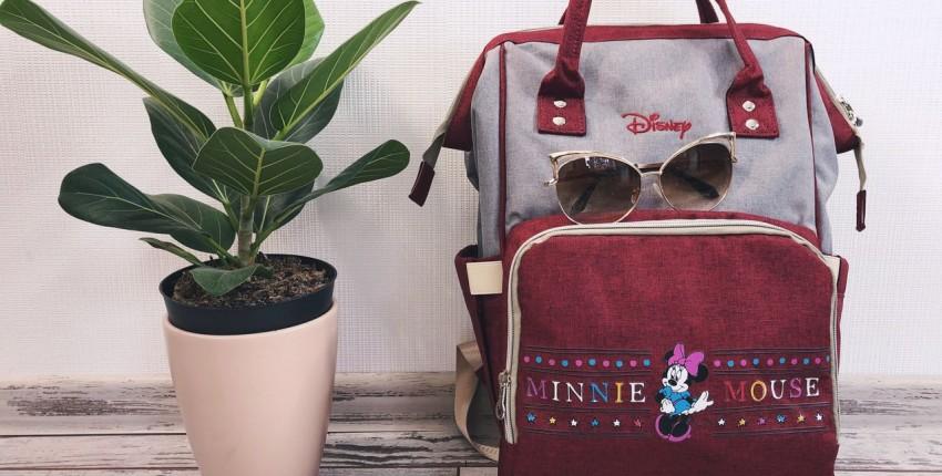 Классный рюкзак Disney с aliexpress для мам и не только. - отзыв покупателя