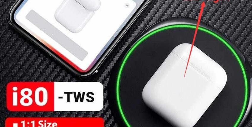 i80  TWS наушники-вкладыши  с Bluetooth 5.0 ЛУЧШЕ AirPODS-2  наушники W1 чип - отзыв покупателя