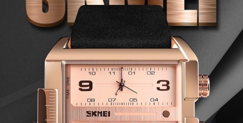 SKMEI мужские часы Лучший бренд класса люкс