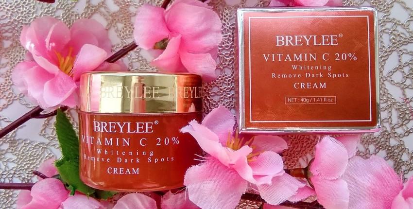 Отбеливающий крем для лица с витамином С от BREYLEE