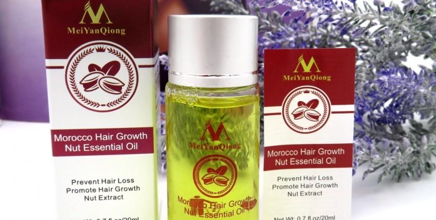 Укрепляющее масло против выпадения волос и для усиления их роста - отзыв покупателя