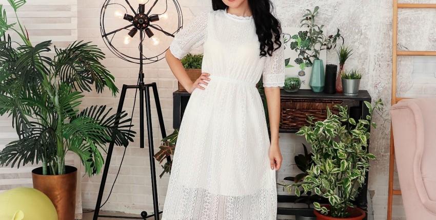 Милое кружевное платье Alyaboomty - отзыв покупателя
