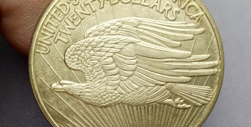 20 доллар США 1933  Gold двойной Орел Самая дорогая монета в мире  20 dollar USA 1933 DOUBLE EAGLE - отзыв покупателя