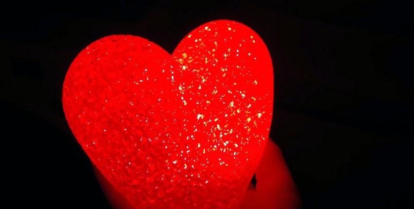 СВЕТИЛЬНИК-СЕРДЦЕ На романтический вечер, как яркий декор в комнату, для уюта - отзыв покупателя