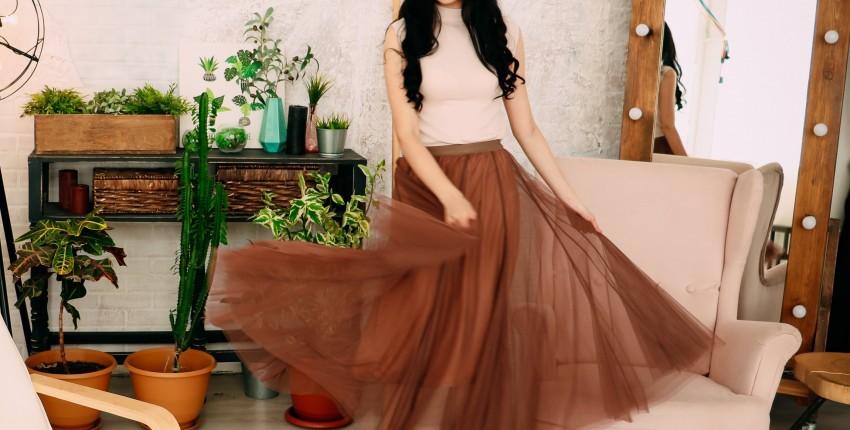 Красивая тюлевая юбка EZSSKJ - отзыв покупателя