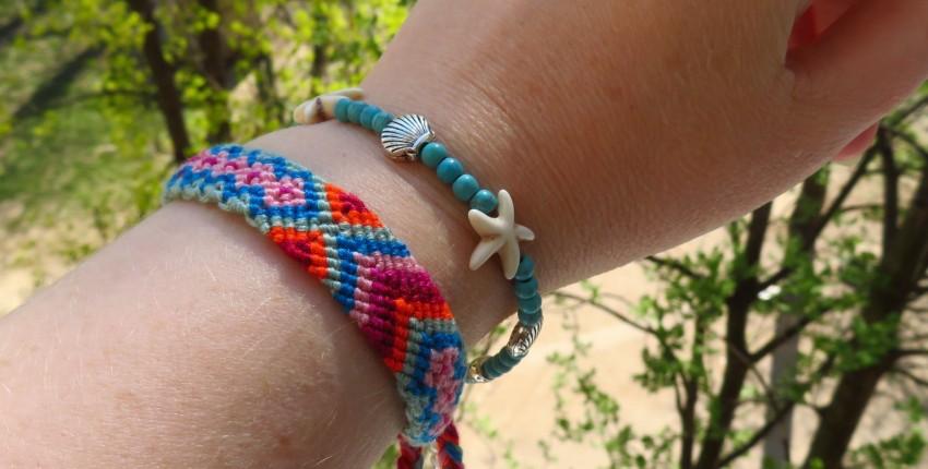 Яркие браслеты в стиле Бохо для летнего отдыха - отзыв покупателя