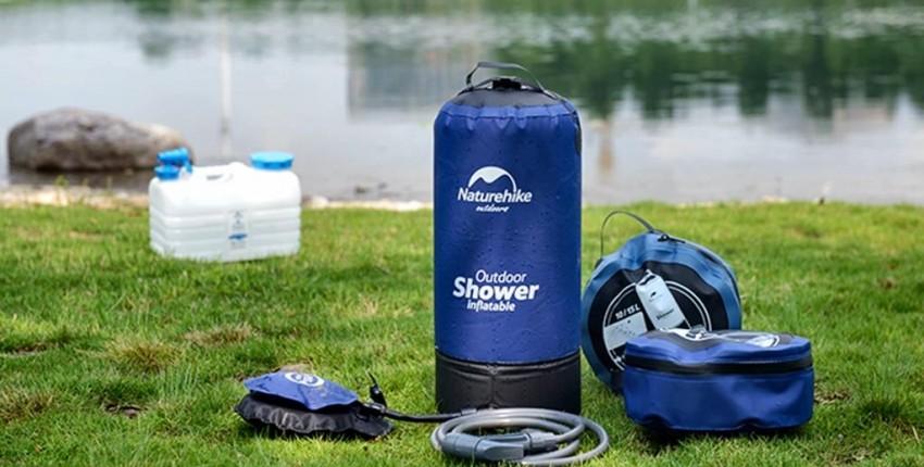 Переносной, мобильный, портативный, надувной душ. Мойка ручного давления для мойки авто. - отзыв покупателя
