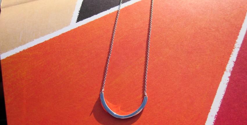 Серебряная дуга на цепочке - отзыв покупателя