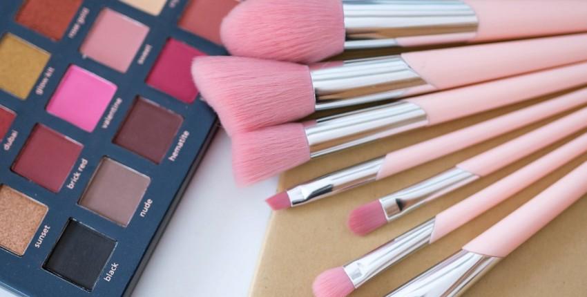 Шикарные розовые кисти для макияжа - отзыв покупателя