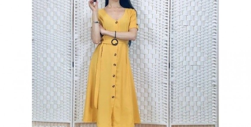 Платье халатик из miss moly Trendy Store - отзыв покупателя