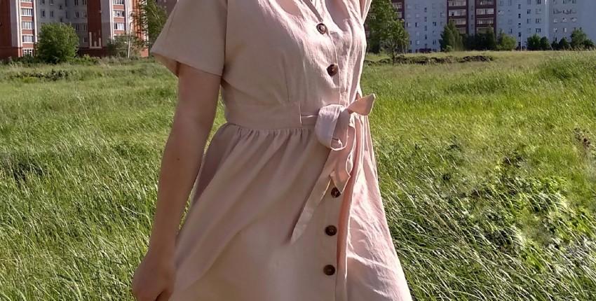 Обзор на летнее повседневное платье от Simplee_Apparel