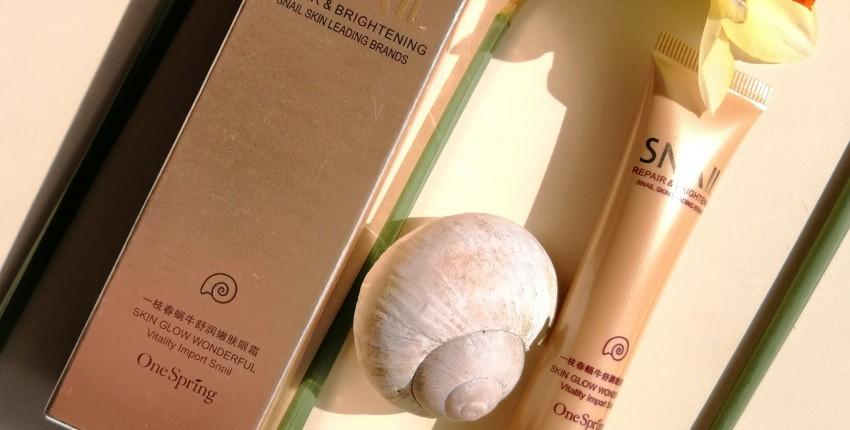 Омолаживающий крем для век с секретом улитки - отзыв покупателя