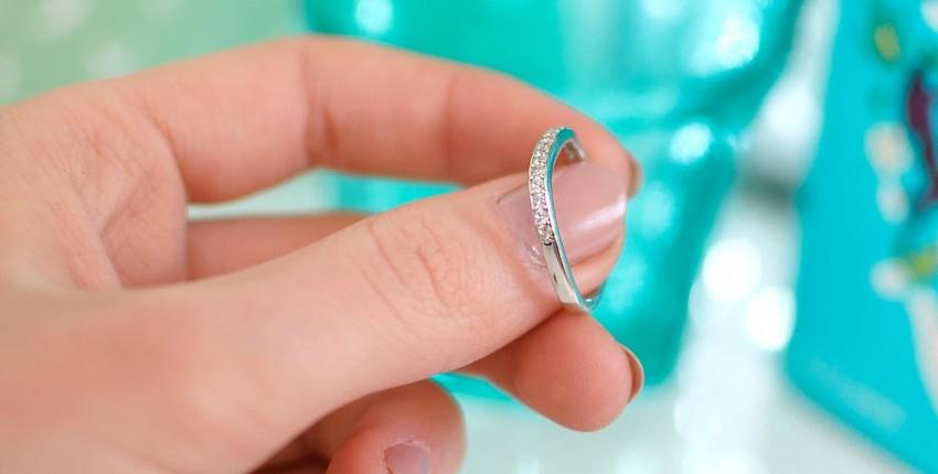 Минималистичное серебряное колечко - отзыв покупателя