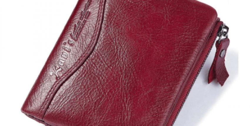Мега удобный и практичный кошелек маленького размера от бренда KAVIS - отзыв покупателя