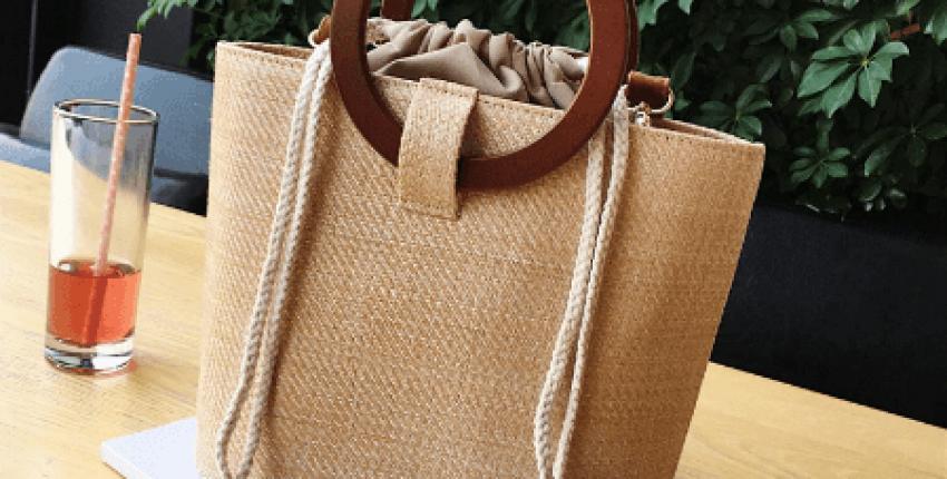 """Современная, стильная, ультра модная сумка на лето - трендовое исполнение """"под солому"""" - отзыв покупателя"""