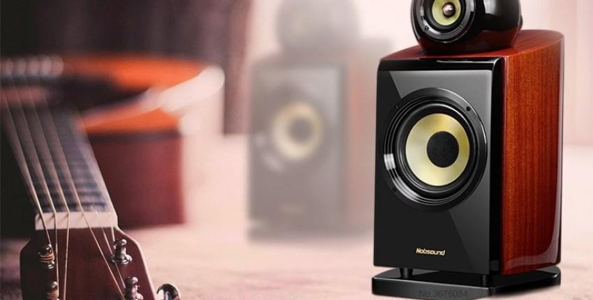 Bluetooth динамик выходная мощность 60 Вт Nobsound DM8 1 пара 6,5 дюймов деревянная - отзыв покупателя