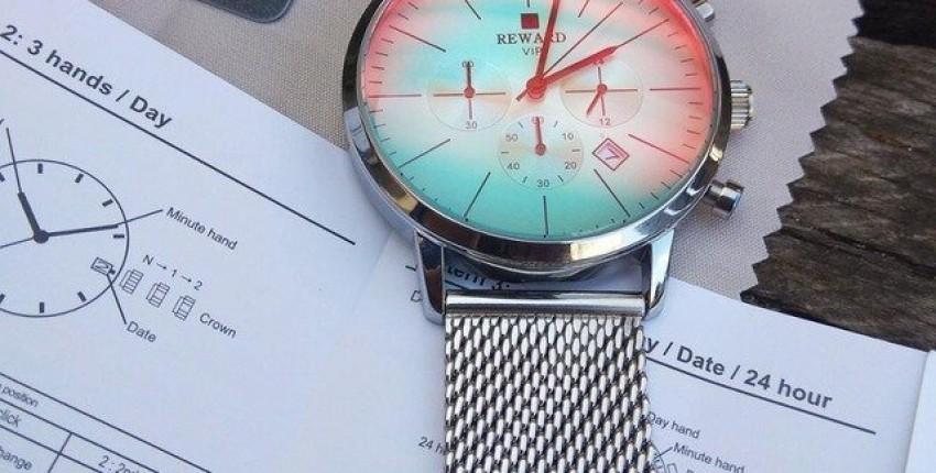 Часы с градиентом от True Colors Store - отзыв покупателя