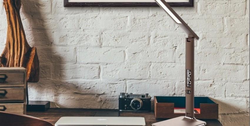 Настольная светодиодная лампа - отзыв покупателя