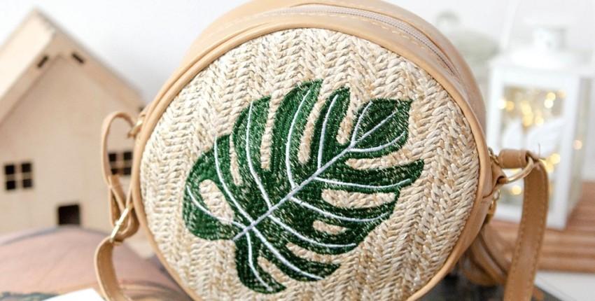 Трендовая плетеная сумка из соломы - отзыв покупателя
