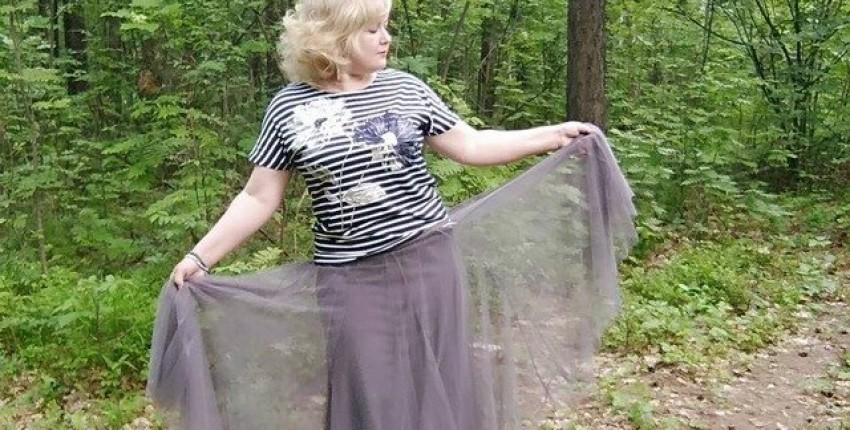 Шикарная фатиновая юбка от магазина Ezsskj Knit Store - отзыв покупателя