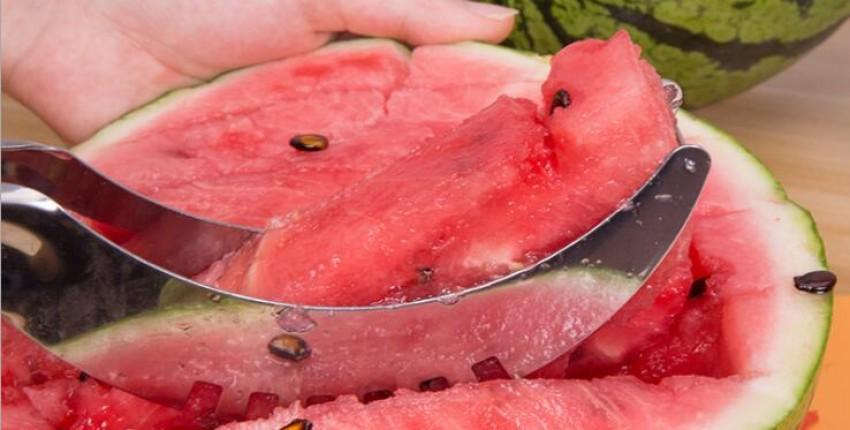 Нож для нарезки АРБУЗА, дыни а также разных фруктов - отзыв покупателя