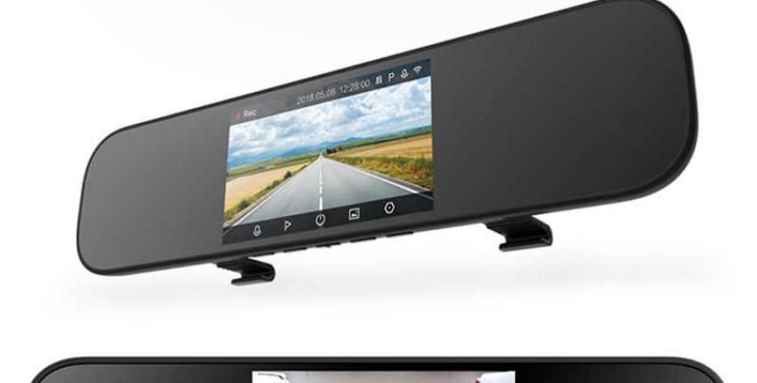 Xiaomi Mijia зеркало заднего вида Автомобильный видеорегистратор 1080 P HD
