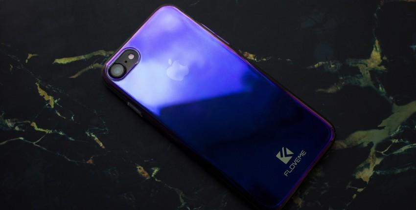 Градиентный чехол для IPhone - отзыв покупателя