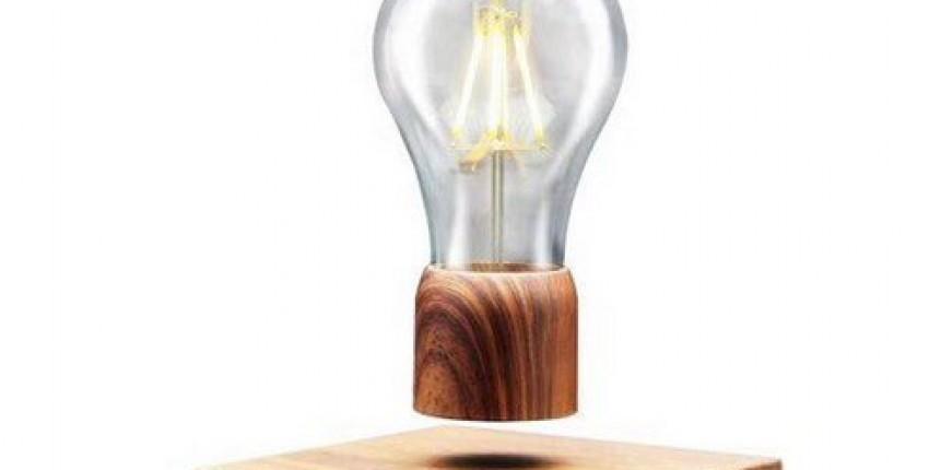 Magnetic Levitating Floating Lamp Light Bulb