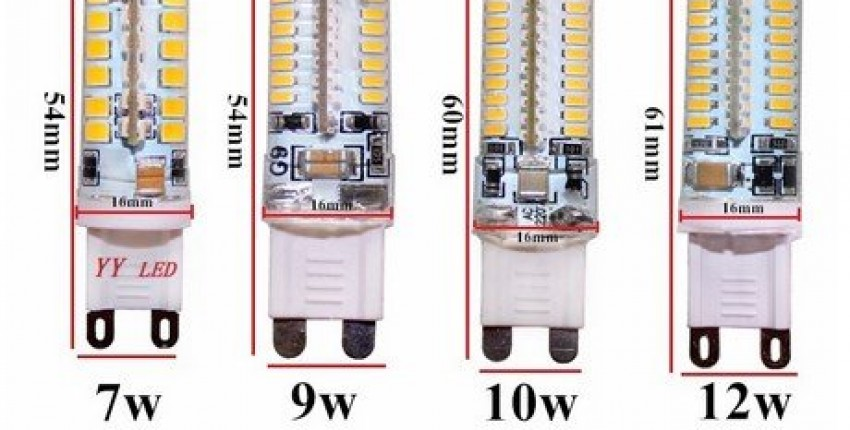 Cree Hot Sale LED lamp G9 corn Bulb AC 220V 9W