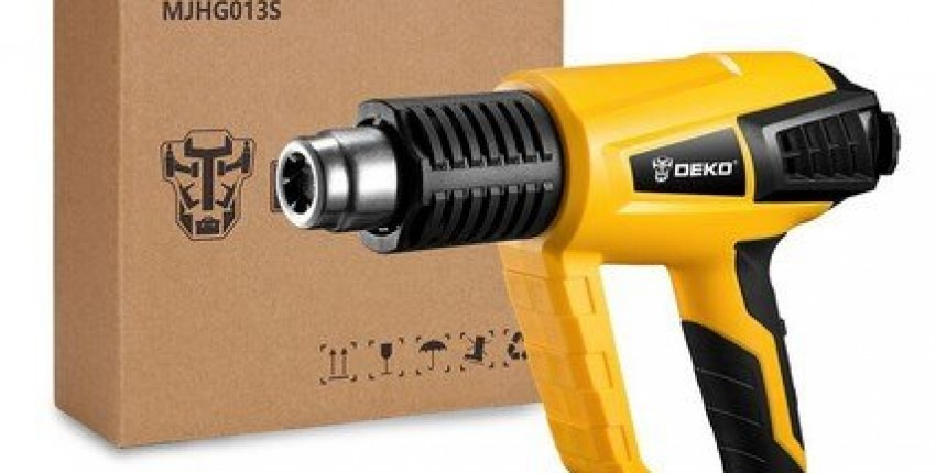 DEKO 220V Heat Gun 2000W Variable Temperature Advanced Electric Hot Air gun