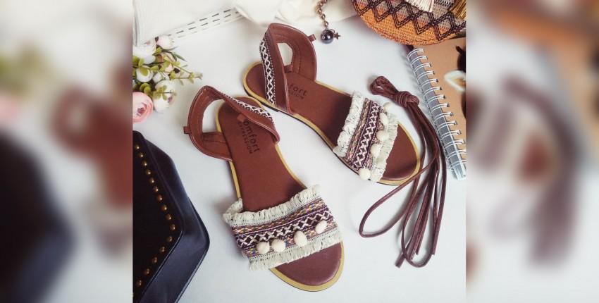Удобные сандалии-гладиаторы для любителей бохо
