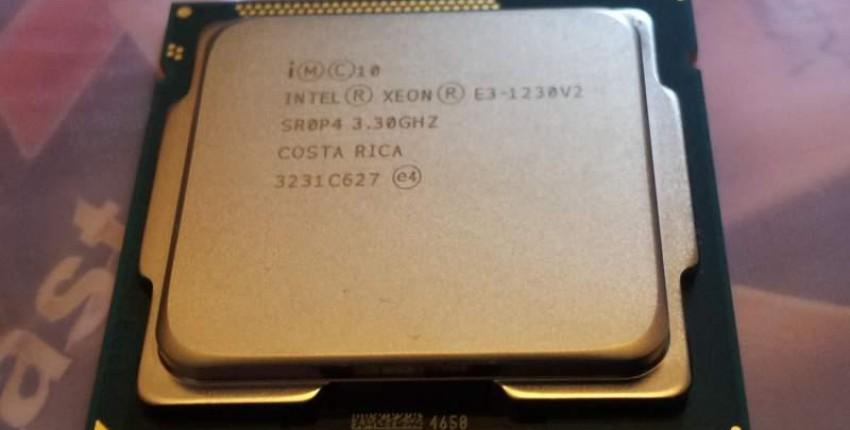 Четырех ядерный процессор Intel Xeon E3 1230 V2. 3,3 ГГц. LGA 1155.