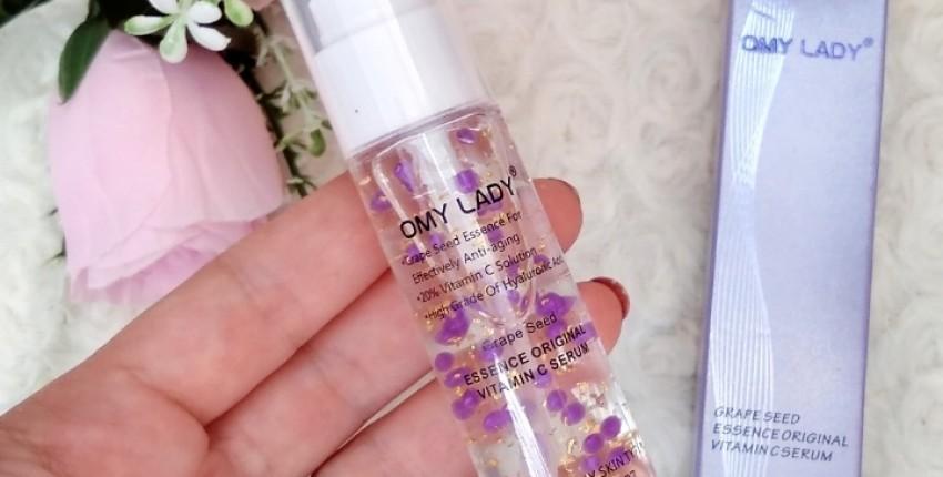 Невероятно красивая сыворотка для лица витамином С OMY_LADY против старения кожи.