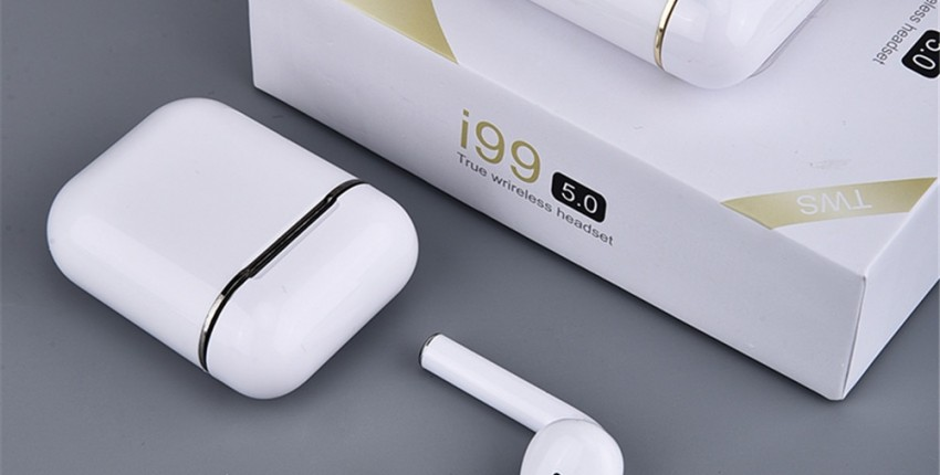 i99 TWS Bluetooth 5,0 наушники беспроводные наушники-вкладыши с сенсорным управлением