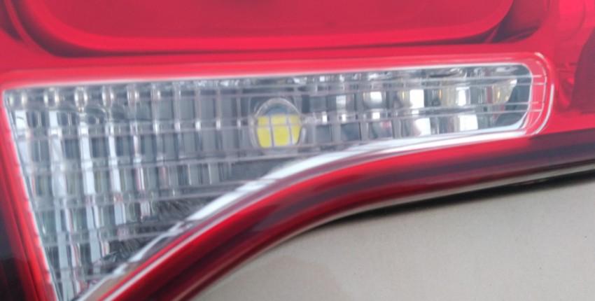 Замена ламп заднего хода на светодиодные