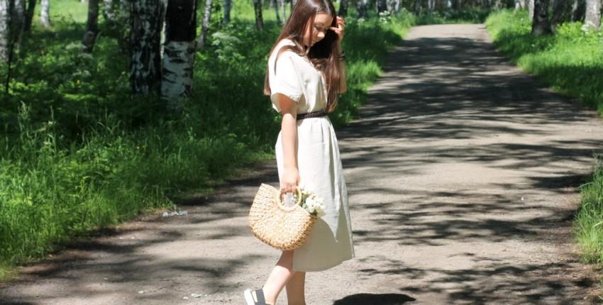 Платье в корейском стиле от  SHENGPALAE