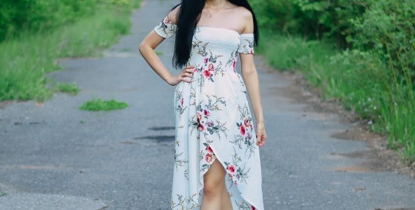 Летнее платье Faroonee