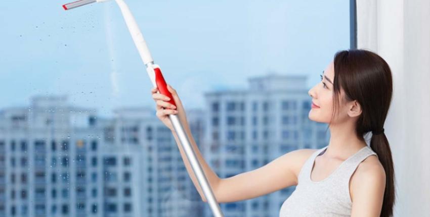 Силиконовый скребок Xiaomi YIJIE Window Cleaner - отзыв покупателя