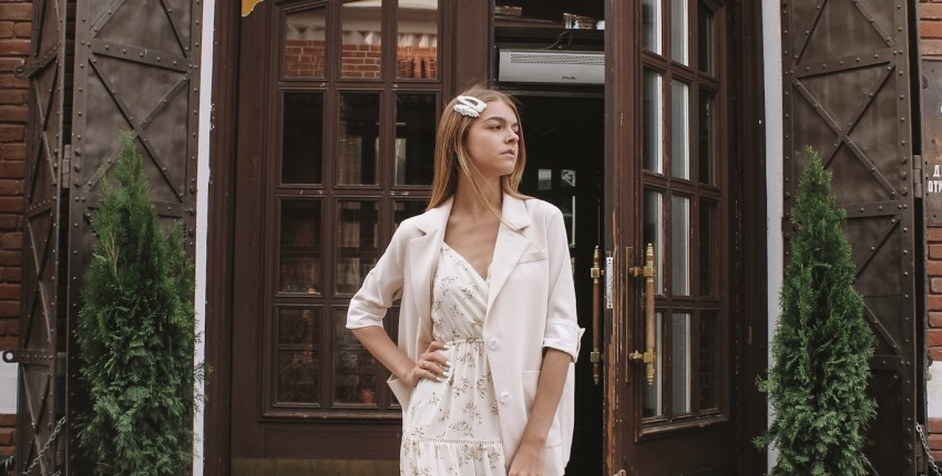 Нежное летнее платье с Алиэкспресс - отзыв покупателя