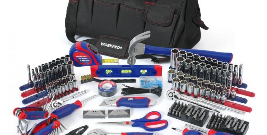 WORKPRO 322 шт. набор профессиональных инструментов - отзыв покупателя