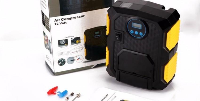 Автомобильный  компрессор - отзыв покупателя