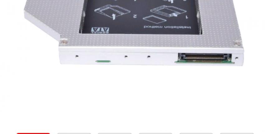 Кейс для жесткого диска в ноутбук вместо СД-рома.