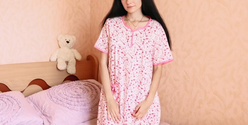 Хлопковая ночная рубашка - отзыв покупателя