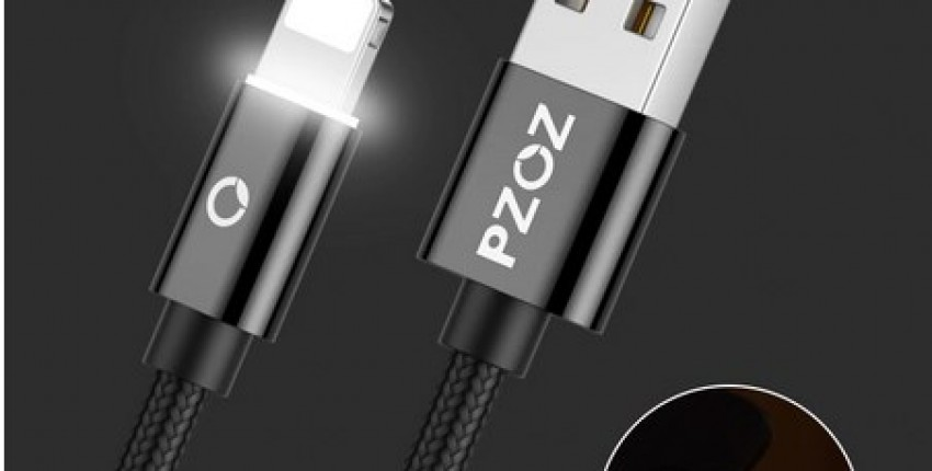 PZOZ USB Cable Data cord For iPhone small connector 8 pin Fast Charging - User's review