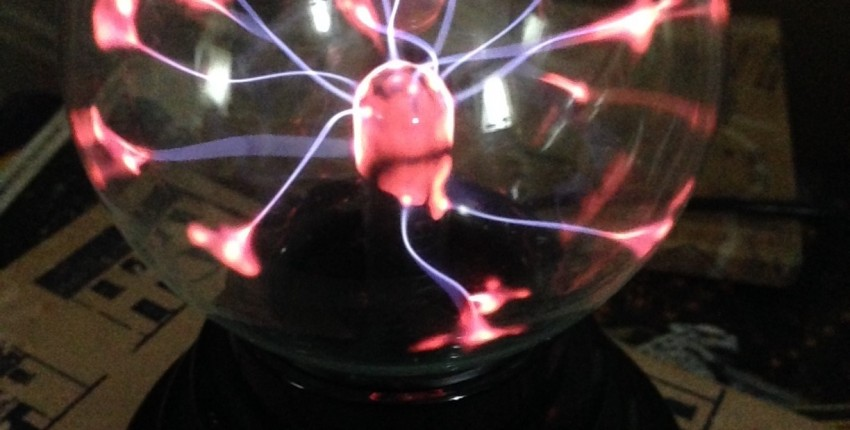 Lightning USB Glass Plasma Ball Sphere Lamp Light